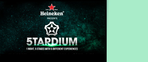 2016 HEINEKEN Presents STARDIUM
