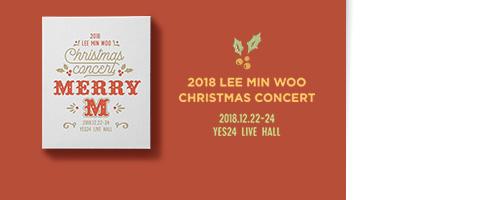 2018 LEE MIN WOO CHRISTMAS CONCERT - MERRY M
