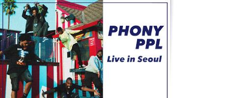 PHONY PPL Live in Seoul