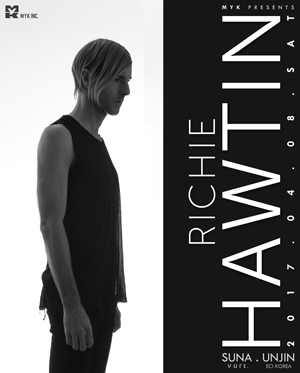 MYK presents Richie Hawtin 내한공연
