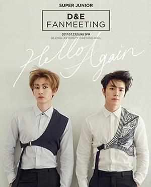 [일반예매] SUPER JUNIOR-D&E FANMEETING [Hello Again]