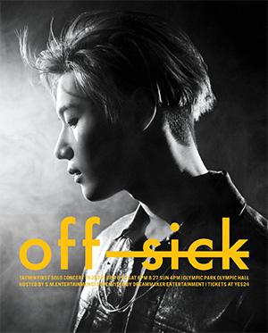 [일반예매] TAEMIN 1st SOLO CONCERT [OFF-SICK]