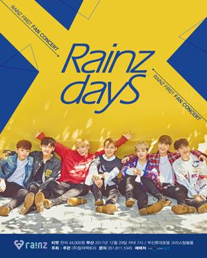 [부산] Rainz 1st Fan concert RAINZ DAYS