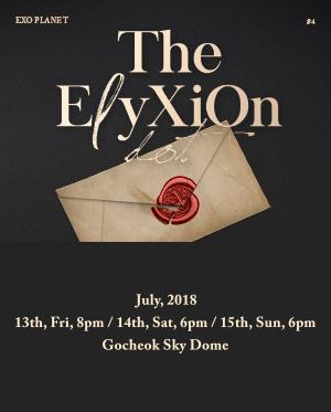[일반예매] EXO PLANET #4 -The EℓyXiOn [dot] -