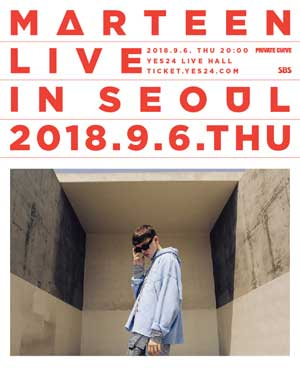 Marteen Live in Seoul