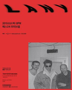 레이니 내한공연 [LANY Live in Seoul 2019]