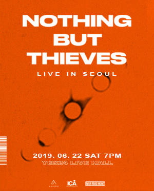 NOTHING BUT THIEVES 내한공연 LIVE IN SEOUL
