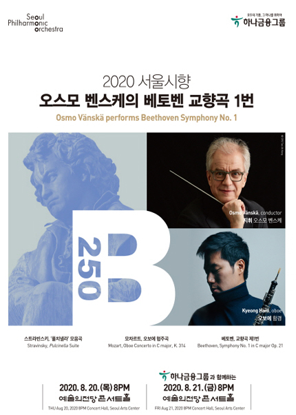 2020 서울시향 오스모 벤스케의 베토벤 교향곡 1번①