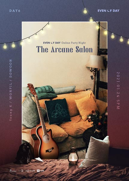 DAY6(Even of Day)Online Party Night〈The Arcane Salon〉