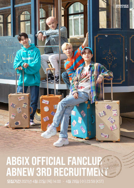 AB6IX OFFICIAL FANCLUB ABNEW 3RD RECRUITMENT