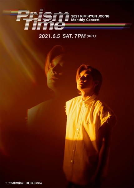 KIM HYUN JOONG Monthly Concert 'Prism Time'