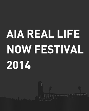 AIA REAL LIFE : NOW FESTIVAL 2014 - 1일권 (15일공연)