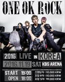2016 ONE OK ROCK LIVE in KOREA