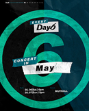 Every DAY6 Concert in May