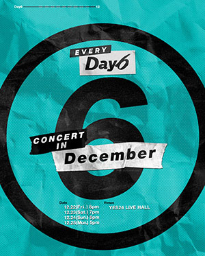 Every DAY6 Concert in December