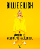 BILLIE EILISH(빌리 아일리쉬) 아시아 독점 단독 내한
