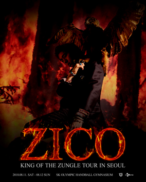 "ZICO""King Of the Zungle""TOUR in Seoul"